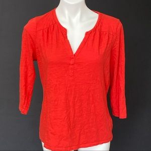 Boden Blouse Red Size Medium